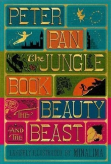 Illustrated Classics Boxed Set : Peter Pan, Jungle Book, Beauty and the Beast, Hardback Book