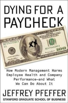 Dying for a Paycheck, Hardback Book