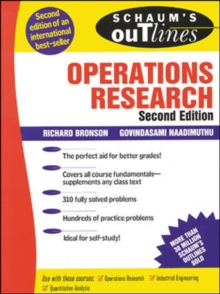 Schaum's Outline of Operations Research, Paperback Book