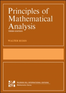Principles of Mathematical Analysis (Int'l Ed), Paperback / softback Book