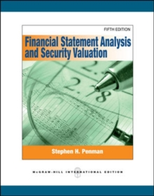 Financial Statement Analysis and Security Valuation, Paperback / softback Book