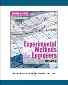 Experimental Methods for Engineers, Paperback Book