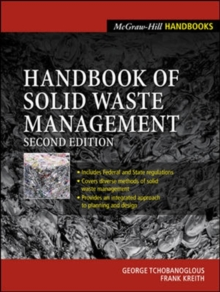 Handbook of Solid Waste  Management, Hardback Book