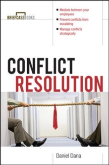 Conflict Resolution, Paperback Book