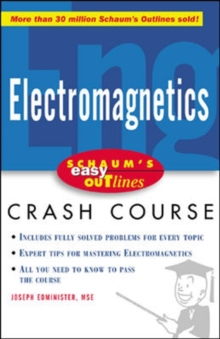 Schaum's Easy Outline of Electromagnetics, Paperback / softback Book