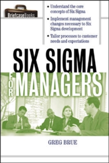 Six Sigma For Managers, EPUB eBook