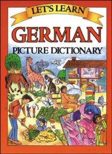 Let's Learn German Dictionary, Hardback Book