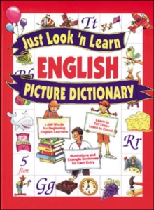 Just Look 'n Learn English Picture Dictionary, Hardback Book