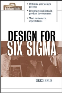 Design for Six Sigma, Paperback / softback Book