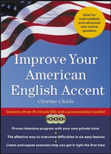 Improve Your American English Accent (Book w/ CD), Book Book