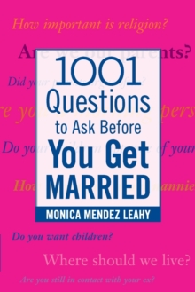 1001 Questions to Ask Before You Get Married, Paperback / softback Book