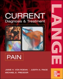CURRENT Diagnosis & Treatment of Pain, Paperback / softback Book