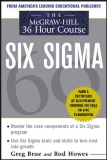 The McGraw Hill 36 Hour Six Sigma Course, EPUB eBook