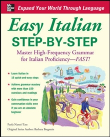 Easy Italian Step-by-Step, Paperback Book