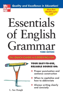 Essentials of English Grammar : A Quick Guide To Good English, Paperback Book