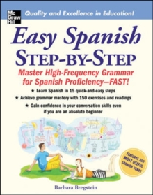 Easy Spanish Step-By-Step, Paperback Book