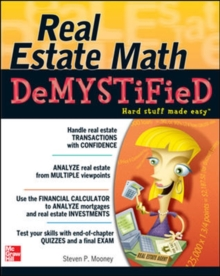 Real Estate Math Demystified, Paperback / softback Book
