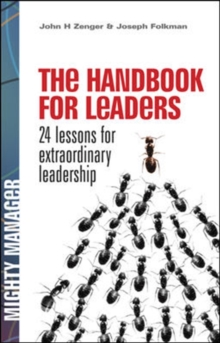 The Handbook for Leaders, Hardback Book
