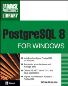 PostgreSQL 8 for Windows, Paperback / softback Book