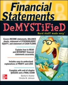 Financial Statements Demystified: A Self-Teaching Guide, Paperback / softback Book