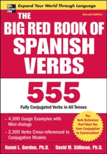 The Big Red Book of Spanish Verbs, Second Edition, Paperback Book