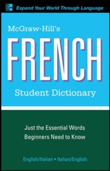 McGraw-Hill's French Student Dictionary, Paperback / softback Book
