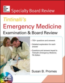 McGraw-Hill Specialty Board Review Tintinalli's Emergency Medicine Examination and Board Review, Book Book