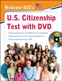 McGraw-Hill's U.S. Citizenship Test with DVD, Book Book