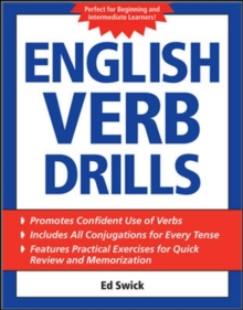 English Verb Drills, Paperback Book