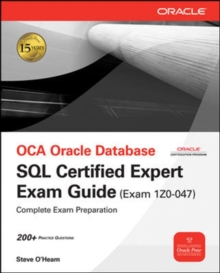 OCE Oracle Database SQL Certified Expert Exam Guide (Exam 1Z0-047), EPUB eBook
