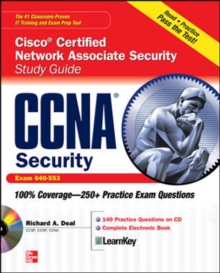 CCNA Cisco Certified Network Associate Security Study Guide with CDROM (Exam 640-553), Book Book