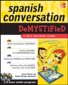 Spanish Conversation Demystified with Two Audio CDs, Book Book