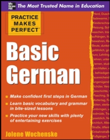 Practice Makes Perfect Basic German, Paperback Book