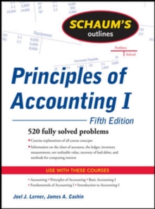 Schaum's Outline of Principles of Accounting I, Fifth Edition, Paperback / softback Book