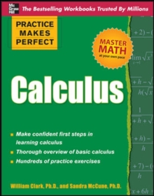 Practice Makes Perfect Calculus, Paperback / softback Book