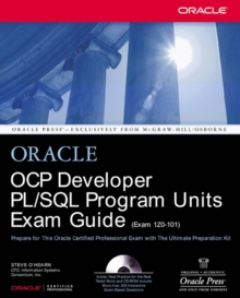 OCP Developer PL/SQL Program Units Exam Guide, PDF eBook