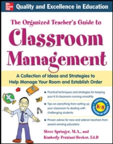 The Organized Teacher's Guide to Classroom Management with CD-ROM, CD-Extra Book