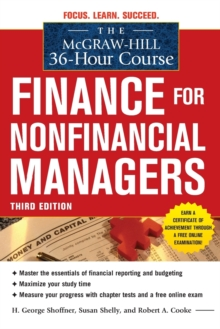 The McGraw-Hill 36-Hour Course: Finance for Non-Financial Managers 3/E, Paperback / softback Book