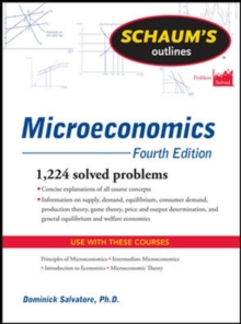 Schaum's Outline of Microeconomics, Paperback Book