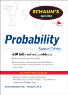 Schaum's Outline of Probability, Second Edition, Paperback Book