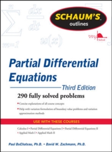 Schaum's Outline of Partial Differential Equations, Paperback Book