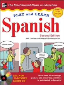 Play and Learn Spanish with Audio CD, Book Book