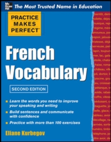 Practice Make Perfect French Vocabulary, Paperback / softback Book