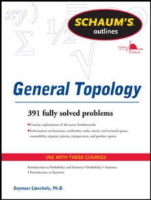Schaums Outline of General Topology, Paperback Book