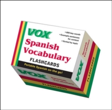 VOX Spanish Vocabulary Flashcards, Other merchandise Book