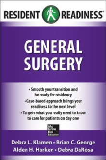 Resident Readiness General Surgery, Paperback / softback Book
