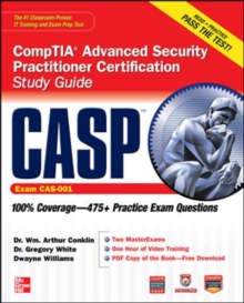 CASP CompTIA Advanced Security Practitioner Certification Study Guide (Exam CAS-001), Book Book