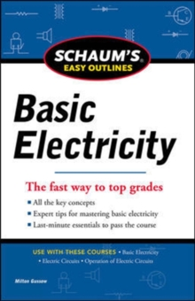 Schaums Easy Outline of Basic Electricity, Paperback / softback Book