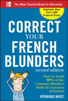 Correct Your French Blunders, Paperback Book