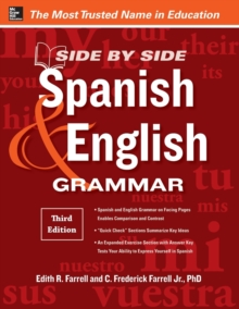 Side-By-Side Spanish and English Grammar, Paperback Book